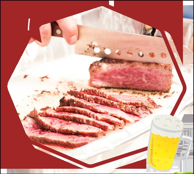 肉バルの食材をそのまま!